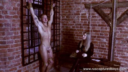 Gay BDSM A New Mistress of Slave Vasiliy - Part II
