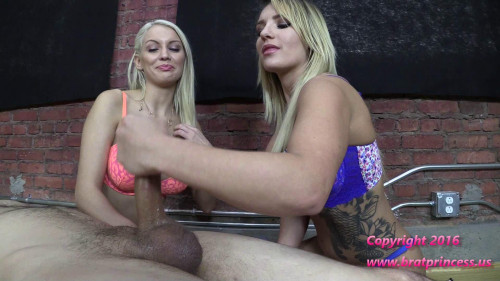 Femdom and Strapon Edging Salon Teasers Demonstrate Ruined Orgasm Techniques