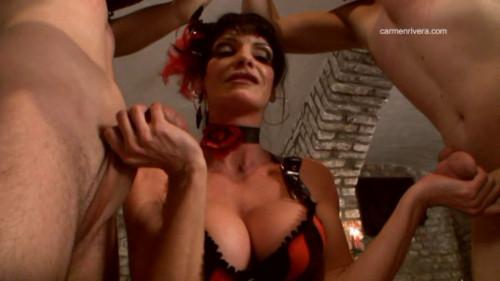 Femdom and Strapon Carmen Rivera - Dildo Queens