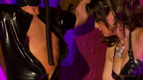 Femdom and Strapon slave episode 35