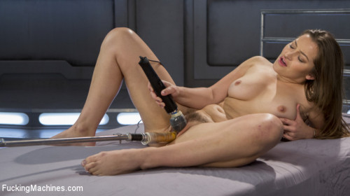 Sex Machines Dani-Fucking-Daniels is Fucked Into Squirting Orgasms