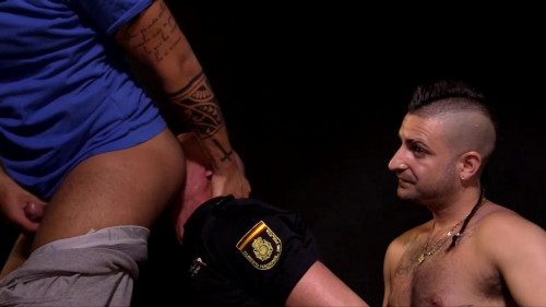 Gay BDSM Izaan Punished By Aday And Alberto