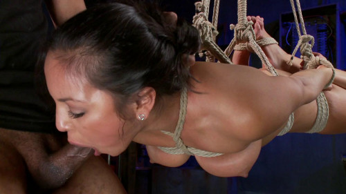 bdsm FB - 12-06-2013 - Penthouse Pet, Adrianna Luna gets Fucked and Bound