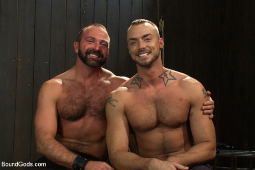 Gay BDSM Super hunk Jessie Colter meets Josh West