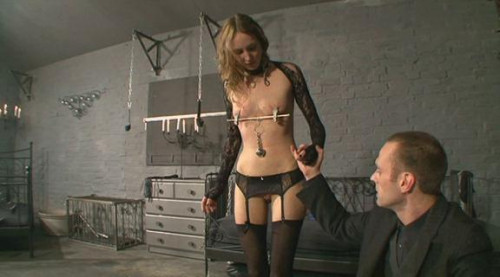 bdsm Sadistic master and Harvested slave