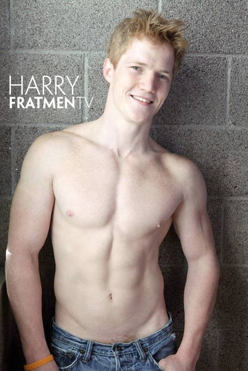 Fratmen TV - Harry (Naked College Redhead)