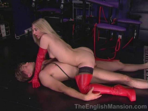 Femdom and Strapon Good Full New Vip Collection EnglishMansion. Part 5.