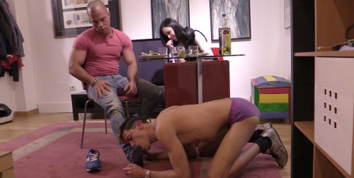 Gay BDSM Antonio Is Man Of The House