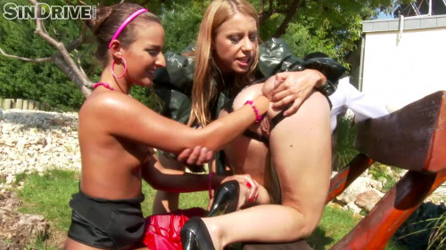 Fisting and Dildo Fucked Up Lesbos Love Fisting Snatch And Ass