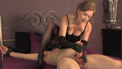 Femdom and Strapon Tied, Teased and Ruined