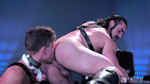 Gay BDSM FetishForces - Hangin Hardcore - Alexander Gustavo and Jaxton Wheeler