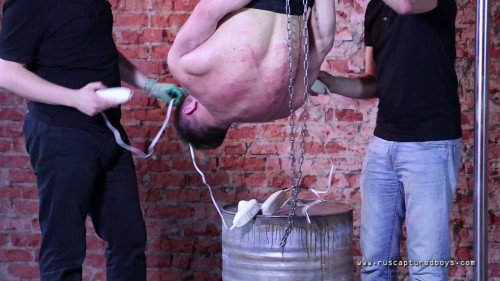 Gay BDSM Captured worker - Final Part