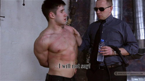 Gay BDSM Captured Secret Agents - Part II