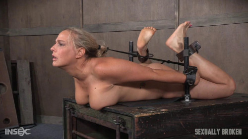 bdsm Sexuallybroken - Sep 28, 2016 - Big titted Blond MILF is hogtied and face fucked into oblivian
