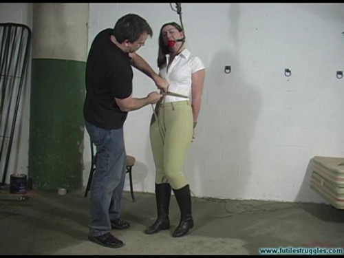 bdsm Equestrian Disciplined with Tight Bondage and a Tighter Gag 1part - BDSM