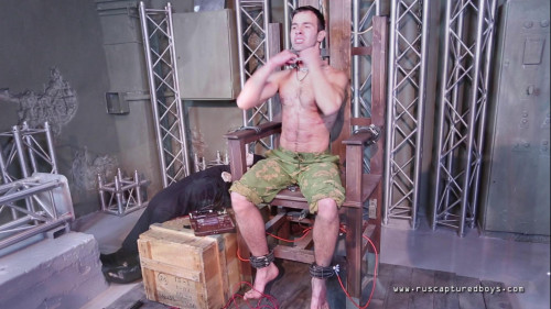Gay BDSM Spetsnaz Prisoner - Final Part
