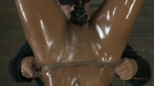 bdsm Oiled up and sexually broken