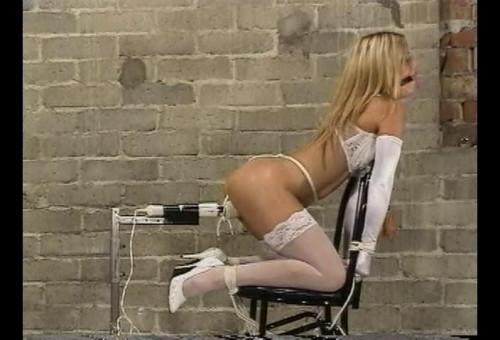bdsm Perfect Blond Babe In Bondage