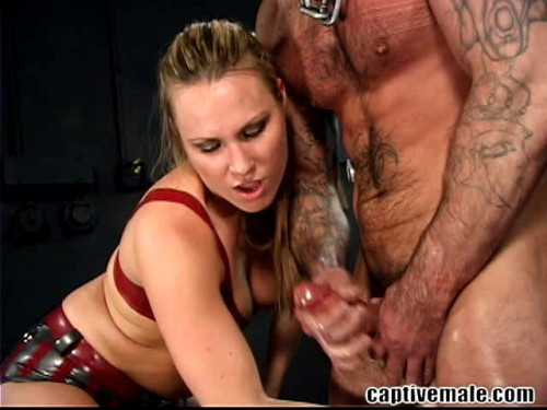 Femdom and Strapon Magic Full Collection CaptiveMale. 13 Clips. Part 1.