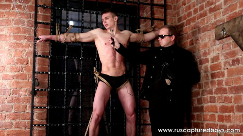 Gay BDSM Captured Male Model Kirill - Part II