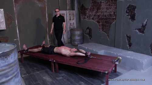 Gay BDSM Captured worker - Part II