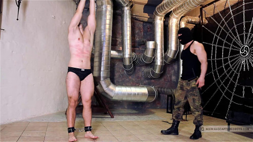 Gay BDSM Captured Plumber - Part II