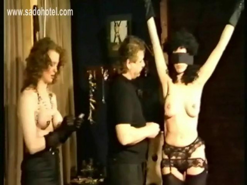 bdsm Pain threesome