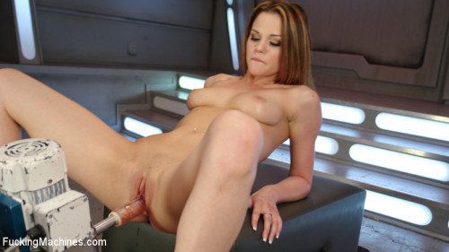 Sex Machines Young Hot Newcomer Gets a Fucked Hard