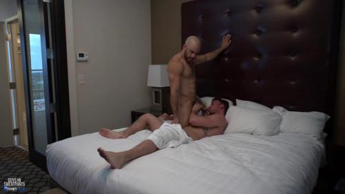 Brett takes Austin raw (Austin Wilde, Brett Beckham)