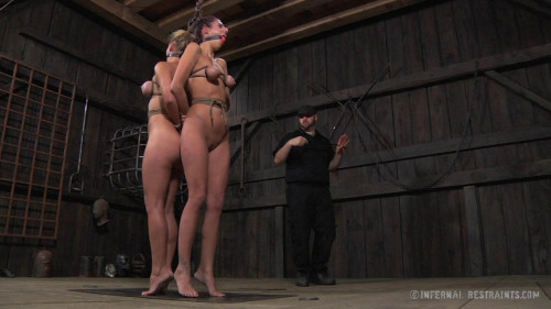 bdsm Cherie Deville and Lavender Rayne