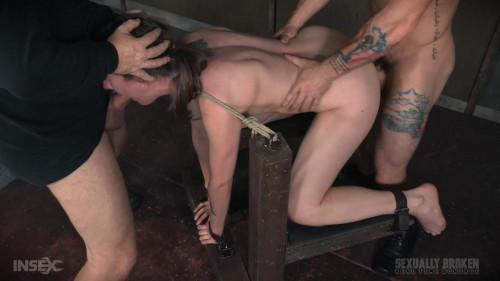 bdsm Sierra Cirque Cute girl suffers brutal deepthroating rough fucking extreme bondage sex (2016)