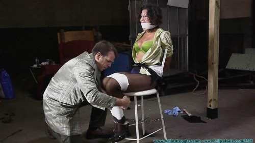 bdsm Casino Gag Interrogation For Sahrye 1