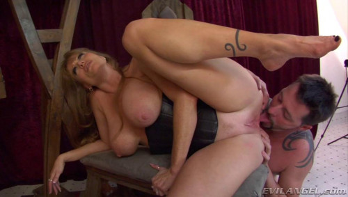 Femdom and Strapon Ass worship licking