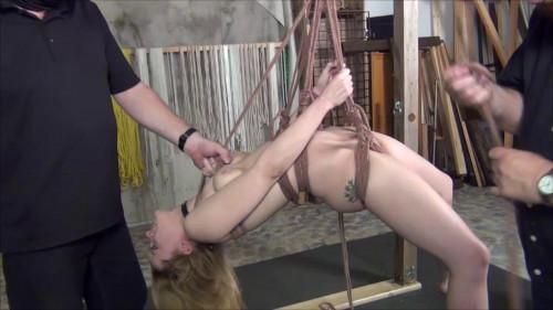 bdsm Orgasm Hotied Suspended