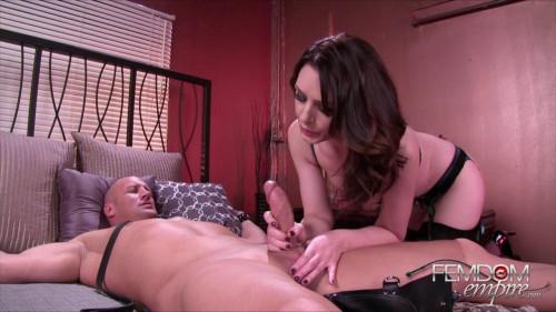Femdom and Strapon Sarah Shevon - Chastity Sex Slave