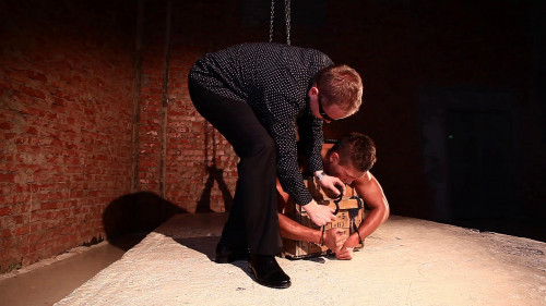Gay BDSM RusCapturedBoys - Prisoner Dmitriy - Final
