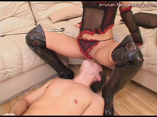 Femdom and Strapon Super Gold Full Collection Of Brutal - Facesitting. Part 5.