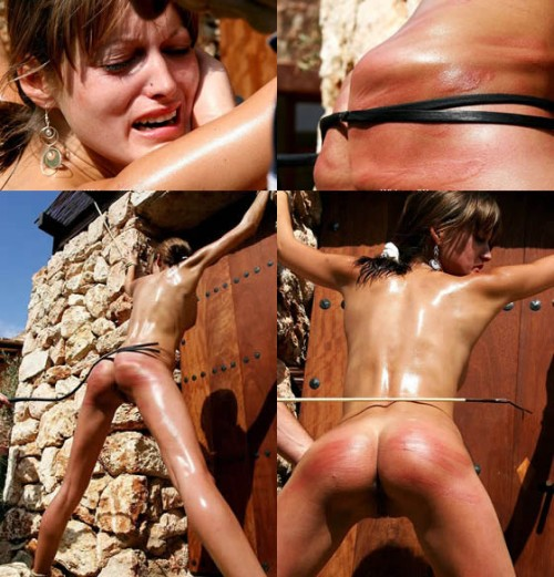 WhippedWomen   Oiled And X bound