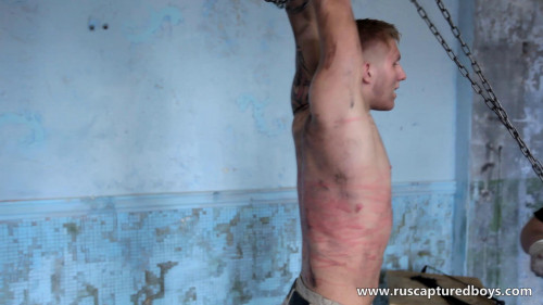Gay BDSM Slava - The Prisoner of War - Part I