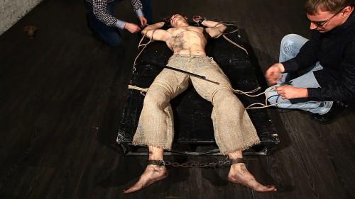 Gay BDSM Hardy Slave Zhenya. Part I