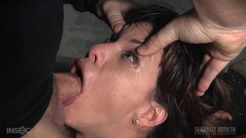 bdsm Tiny deepthroat expert put through her paces