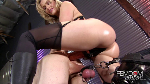 Femdom and Strapon Mia Malkova - Stretched to Gape