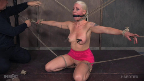 bdsm Dirty Slut In Rope Bondage
