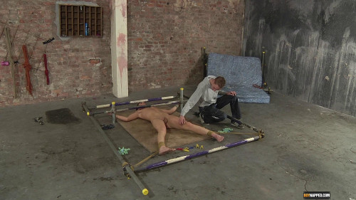 Gay BDSM Punishingly Pegged And Fed