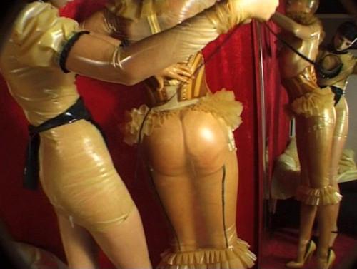 bdsm Amazing rubber dolls