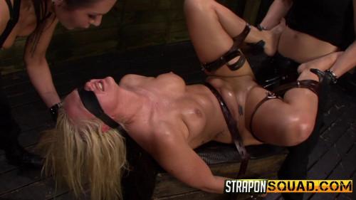 bdsm Straponsquad - Jun 24, 2016 - Fucking Machine Lesbian Domination for Layla Price with Isa Mendez