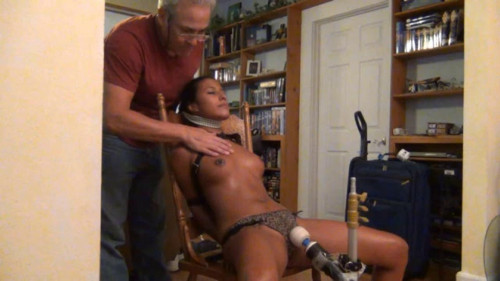 bdsm Super bondage, hanging and torture for hot latina girl
