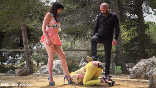 bdsm Beautiful Spanish Slut Gets Disgraced Like a Pig - Part 1
