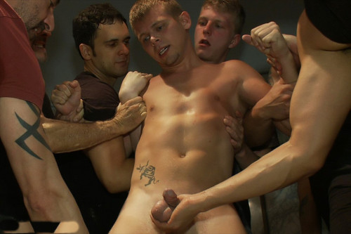 Bound In Public - Branden Forrest, Dutch Bardoux and Mike Rivers Gay Porn Clips