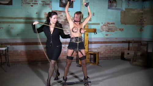 bdsm Super torture and bondage for beautiful blonde girl
